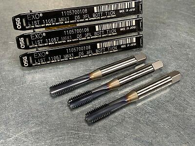 "new OSG NO375016 7//16/"" 5xD EXO-Carb Max Oil Coolant-Through Carbide Drill AlTiN"