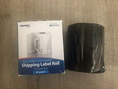 Stamps.com 4x6-14 250 Rl Shipping Labels Dymo 1744907zebra Comp Free Ship