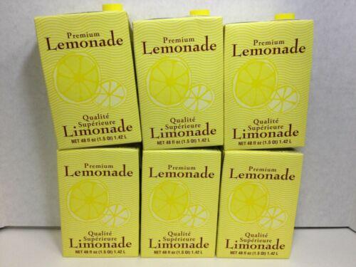 Starbucks Premium Lemonade 48 fl oz, CASE OF 6, BBD... 08/26/20