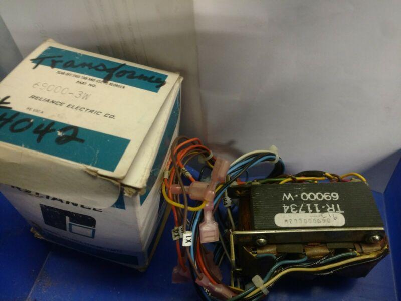 RELIANCE ELECTRIC 69000-3W NEW 460V PRIMARY TRANSFORMER 690003W