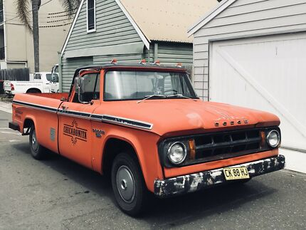 DODGE D100 1968 Chevy ratrod ford pickup