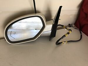 2012 Cadillac Escalade SUV driver side mirror and