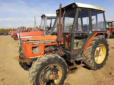 Zetor Parts Manual - 5011,6011, 6045, 7011 & 7045 Tractors na sprzedaż  Wysyłka do Poland