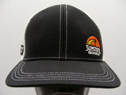SUNSTATE EQUIPMENT CO. - Trench Safety - One Size SNAPBACK Baseball Cap Hat!