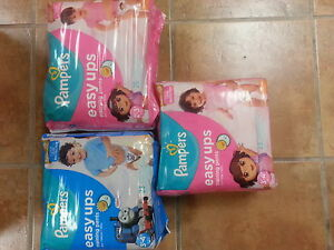 pampers easy ups training pants for girls and boys