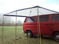 Sonnensegel Vorzelt Wohnwagen Sonnenschutz Sonnendach Windschutz Sichtschutz 380