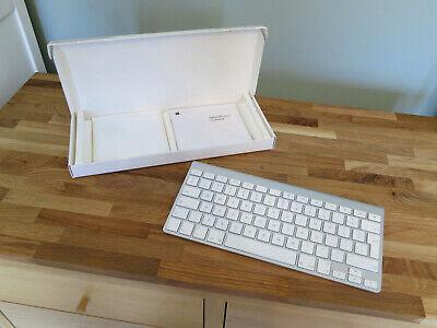 Genuine Apple Bluetooth Wireless Keyboard UK - MB167B/A - Pristine Cond. in Box