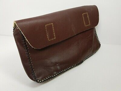 Geniune Leather Letter File Folder Document Valuable Protector Wallet 12 X 6