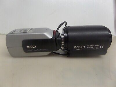 Bosch Ltc049520 Dinion Xf Daynight Camera With Ltc338421 Tv Zoom Lens 6-60mm