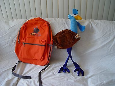 Freebirds Bird Hat and Backpack branded movie items