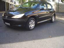 PEUGEOT 206 BLACK HATCH LOVELY CONDITION $2250 College Park Norwood Area Preview