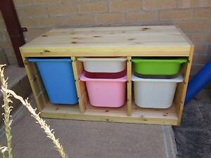 TIMBER TROFAST TOY STORAGE DRAWERS IKEA TOY DRAWERS A1 condition Northbridge Willoughby Area Preview