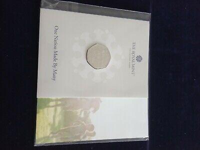Diversity 50p 2020 Royal Mint