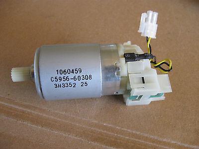Johnson C5956-60308 12-24v Dc Motor W Encoder Used