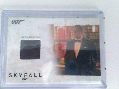 James Bond Autographs & Relics Daniel Craig SSC20 Suit Relic 098/200 Rare