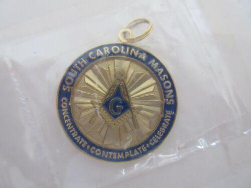South Carolina Masons Masonic Necklace Pendant Medallion