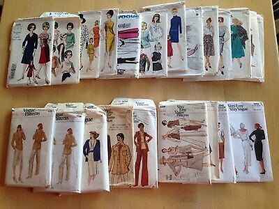 Vintage Vogue Sewing Pattern Cut, Sm Package, Choose Your Style