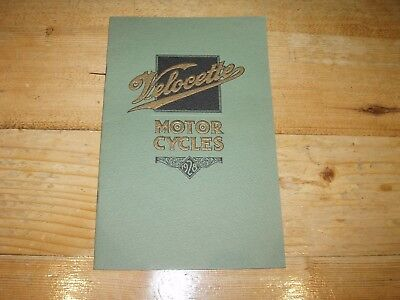 Velocette Motorcycles Brochure 1928.