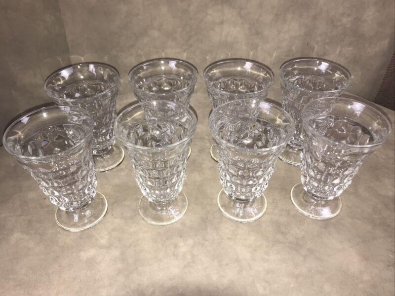 American Fostoria Clear Ice Tea Glasses