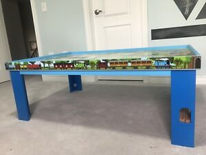 Authentic Thomas the Train tables and accessories