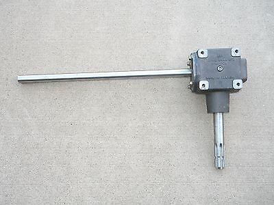 New Prairie Gear Mfg 90 Degree 1023 Gearbox 11 Ratio 700 Series Auger Schredder