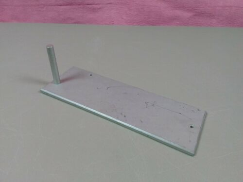 "Dial Indicator Test Stand Aluminum Plate Machinist Toolmaker 3/8"" x 2 1/2"" Rod"