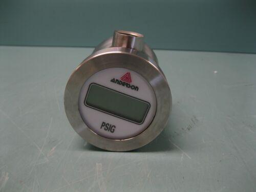Anderson SV073G002G1205 SS Pharmaceutical Pressure Transmitter H17 (2921)
