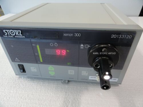 Storz Xenon 300 20133120 Light Source with turret Endoscopy Surgical