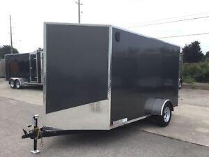 2019 Canadian Trailer Company 6X12 V-Nose Cargo Trailer