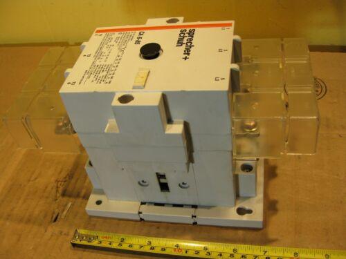 Sprecher Schuh CA 6-85 Contactor Motor Starter 3 Pole 110V Coil 160A 600V CA 6-P