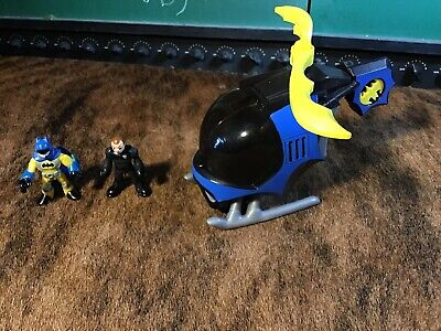 FISHER PRICE Imaginext Batman Batcopter Helicopter Vehicle DC Super Friends 2008