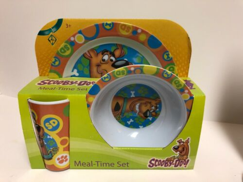 SCOOBY DOO Meal Time Plate Bowl Cup Set