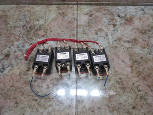 MATSUSHITA CONTACTOR UNIT AQ2017 SSR9B 4-30VDC SOLD STATE RELAY EACH
