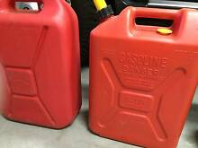 20 Ltr Jerry Cans Tea Gardens Great Lakes Area Preview