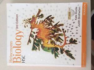 Heinemann Biology HSC 3rd Edition Collaroy Manly Area Preview
