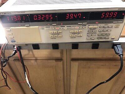 Yokogawa Wt2010 Digital Power Meter Analyzer