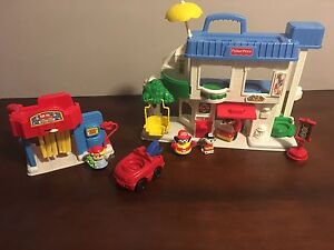 Little People Town Set
