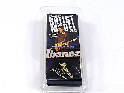 Ibanez Guitar Picks  Paul Gilbert Signature  Black Jazz  Heavy  6 Pack for sale  Shipping to Canada