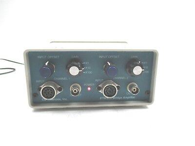 Cb Sciences Eth-200 Bridge Amplifier Quality Working Laboratory Unit 2 Channel