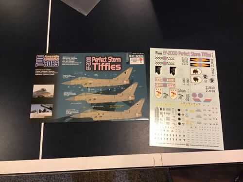 1/32 Two Bobs Decals EF-2000 Eurofighter Typhoon Perfect Storm Tiffies 32-056 - $15.00