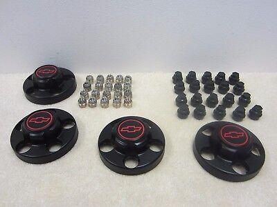 1988   1998 Chevrolet C1500 454 Ss Super Sport Wheel Center Cap Set 46249  Wh