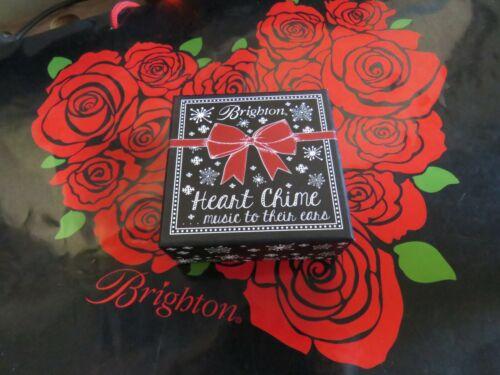 Brighton Love Heart Chime, Chimes w / Movement New In Original Box--NWT