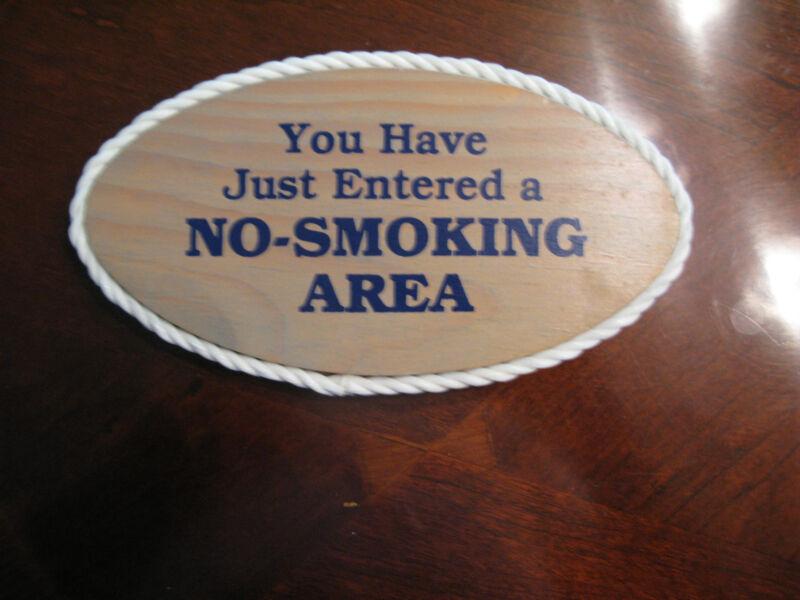 Nautical No Smoking Sign