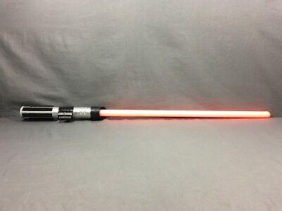 Star Wars Darth Vader Ultimate FX Light Saber RED Sound FX WORKS FAST SHIPPING