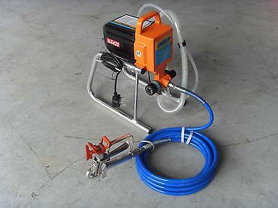 AIRLESS PAINT SPRAYER NEW 240  V ct0036 REDUCED 5 ONLY AT £189