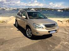 2007 Lexus RX350 Upgrade Sports Luxury Gold 5 Speed Auto Peppermint Grove Cottesloe Area Preview