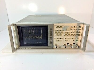 Hp Agilent Keysight 8753c Network Analyzer 300khz To 3ghz