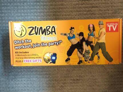 Zumba Home Fitness DVD Pack (includes toning sticks)