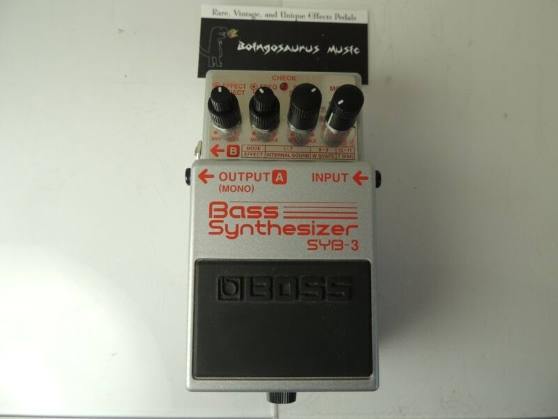 Boss SYB-3 Bass Synthesizer Synth Effects Pedal Free USA Shipping
