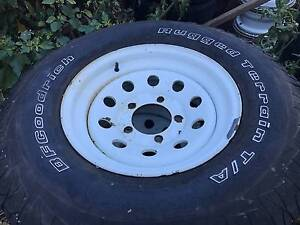 Toyota Land Cruiser wheels and tyres 235/85/16 bf goodrich Berwick Casey Area Preview